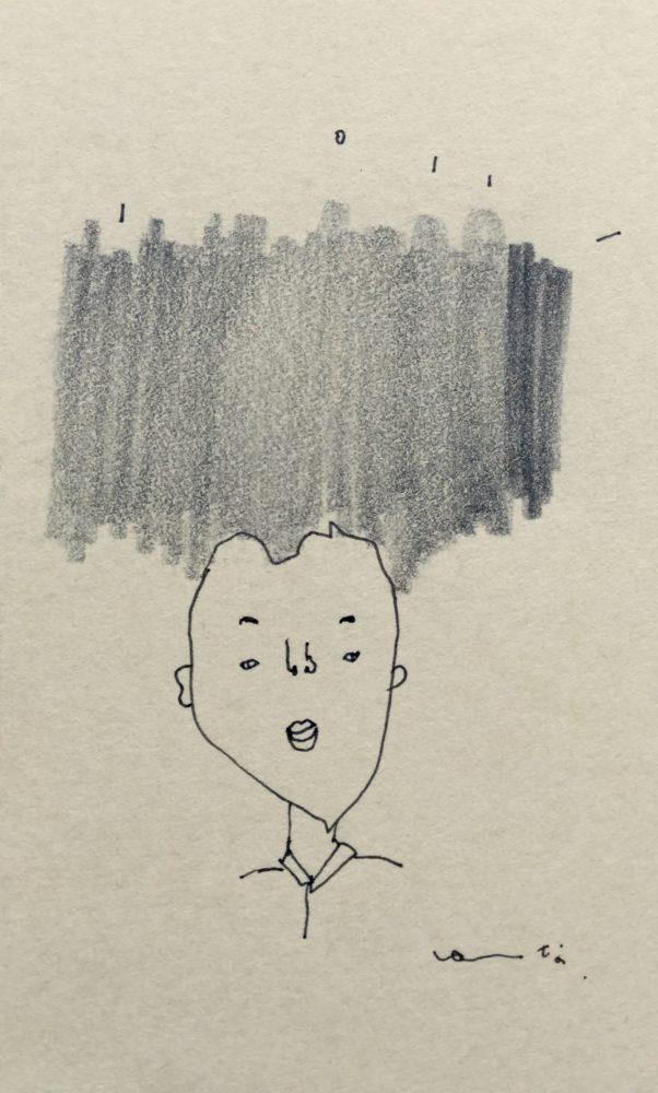 髪ボーーー