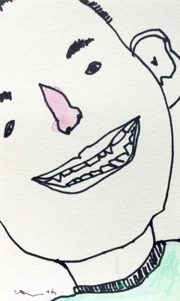 歯のアップ